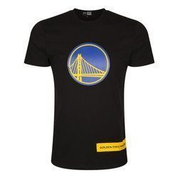 New Era NBA Golden State Warriors Wordmark Block T-Shirt - 12195401