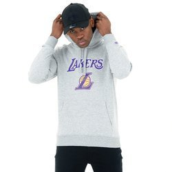 New Era NBA Los Angeles Lakers Team Logo Hoodie - 11530758