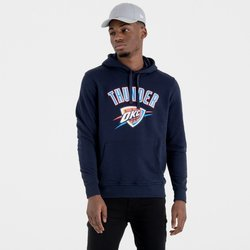 New Era NBA Oklahoma City Thunder Team Logo Hoodie - 11546168