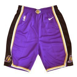 Nike Kids Swingman Statement Short Los Angeles Lakers - EZ2B7BAFC-LAK