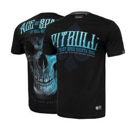 Pit Bull West Coast Blue Skull T-Shirt - 2190389000