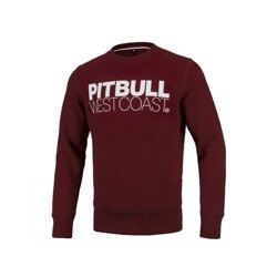 Pit Bull West Coast Crewneck TNT 19 Burgundy - 119404460