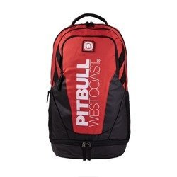 Pit bul West coast tnt backpack red