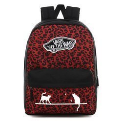 Plecak Vans Backpack - VN0A3UI6UY1 - Custom Cats