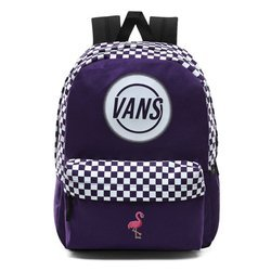 Plecak Vans Taper Off Realm Backpack - VN0A48GMSF5 - Custom Flamingo