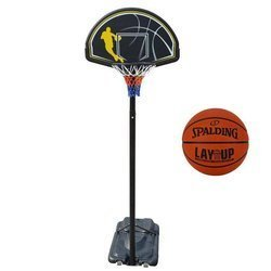 Portable Basketball stand MASTER Street 305 + Spalding LAYUP