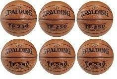 Spalding Basketball TF-250 Indoor/Outdoor x6