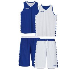 Spalding Essential Reversible Basketball Short + Spalding Essential Reversible Basketball Shirt