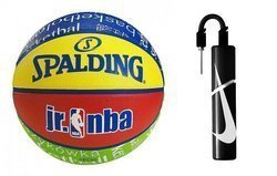 Spalding NBA Junior Basketball  + pump Nike