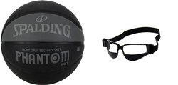 Spalding NBA Phantom STREET Soft Grip Outdoor + Goggles Baskebtall