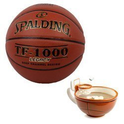Spalding TF-1000 Legacy + MAX'IS Creations Cup - Basketball The Mug With A Hoop