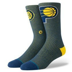 Stance NBA Indiana Pacers Jersey Crew Socks - M545D18PAC