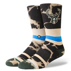 Stance NBA Milwaukee Bucks Acid Wash Socks - M558C18BUC