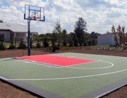Sure Shot VersaCourt Basketball Court Playground Backyard