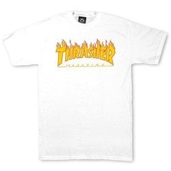 Thrasher Flame T-shirt WHT