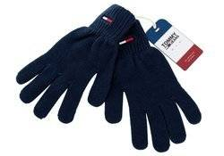 Tommy Hilfiger TJM Basic Flag Rib Gloves - AMAM05217-CBK