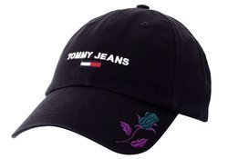Tommy Hilfiger TJM Sport Cap Black Custom Rose - AM0AM05954 BDS