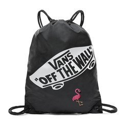 VANS Benched Bag black custom Flaming  VN000SUF158