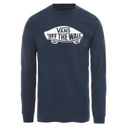 VANS Long Sleeve Navy White - VN00059JNAV