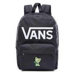 VANS - New Skool Backp Backpack Custom Green Kitty - VN0002TLY28 000