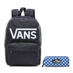 VANS - New Skool Backp Backpack - VN0002TLY28 000 + Pencil Pouch