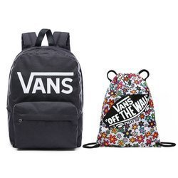 VANS - New Skool Backp Backpack - VN0002TLY28 000 + VANS Benched Bag - VN000SUF158
