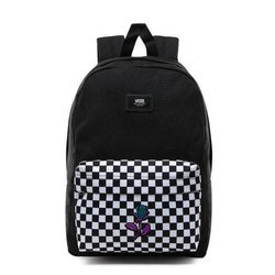 VANS New Skool Checkerboard Backpack Custom Purple Rose - VN0002TL2OB