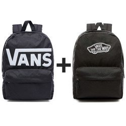 VANS Old Skool II Backpack - VN000ONIY28-813 + VANS Realm Backpack | VN0A3UI6BLK