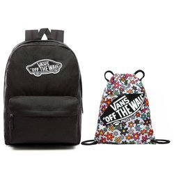 VANS Realm Backpack + Benched Bag