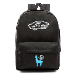 VANS Realm Backpack Custom Blue lama - VN0A3UI6BLK