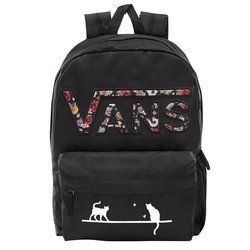 VANS Realm Backpack Custom Cats - VN0A3UI8YGL 004