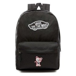 VANS Realm Backpack Custom Pink Cat - VN0A3UI6BLK