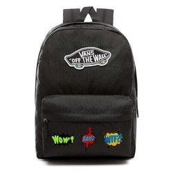 VANS Realm Backpack Custom WTF? - VN0A3UI6BLK