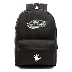 VANS Realm Backpack | VN0A3UI6BLK - Custom Hey