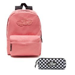 VANS - Realm Backpack | VN0A3UI6YDZ 886 + Pencil Pouch