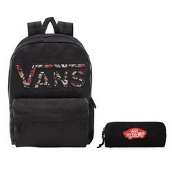 VANS Realm Backpack - VN0A3UI8YGL 004 + Pencil Pouch