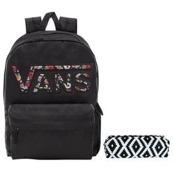 VANS Realm Backpack - VN0A3UI8YGL 004 + pencil case