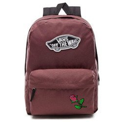 VANS Realm - Catawba Grape Backpack - VN0A3UI6ALI 295 - Custom Pink Rose