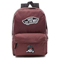 VANS Realm - Catawba Grape Backpack - VN0A3UI6ALI 295 - Custom Sweet Kitty