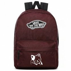 VANS Realm Port Royale Backpack - VN0A3UI64QU1 Custom Cat