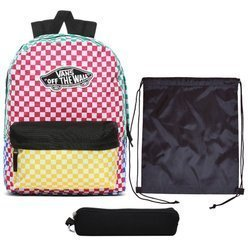 Vans Checker Block Backpack - VN0A3UI6ZL1