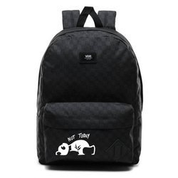 Vans Old Skool III  Backpack - VN0A3I6RBA5 - Custom Panda Not Today