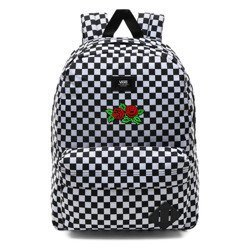 Vans Old Skool III Backpack - VN0A3I6RHU0 - Custom Red Roses