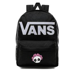 Vans Old Skool III Backpack - VN0A3I6RY28 - Custom Cute Skull (rose)