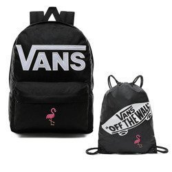 Vans Old Skool III Backpack - VN0A3I6RY28 - Custom Flamingo