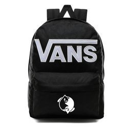 Vans Old Skool III Backpack - VN0A3I6RY28 - Custom Yin Yang Cats