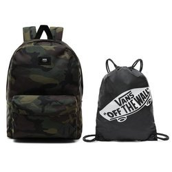 Vans Old Skool III Classic Camo Backpack + Gymsack