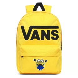 Vans Old Skool III Lemon Chrome Backpack - VN0A3I6R85W Custom Minion