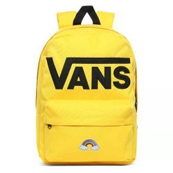 Vans Old Skool III Lemon Chrome Backpack - VN0A3I6R85W Custom Rainbow