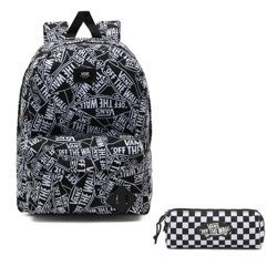 Vans Old Skool III Off The Wall Backpack - VN0A3I6ROTW + Pancil Pouch